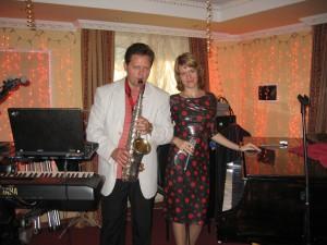 Музыкант Юрий и Ольга